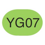 Copic Sketch Marker YG07 Acid Green