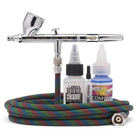 Iwata Eclipse  HP-CS Gravity Feed Airbrush Value Set (With Hose)