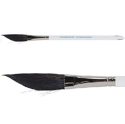 "Connoisseur Dagger 1/2"" Risslon Watercolor Brush"