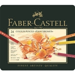 Faber-Castell Polychromos Artist Colored Pencil Set of 24