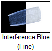 Golden Fluid Acrylic Interference Blue (fine) 16 oz