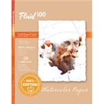 Fluid 100 EZ Block 300lb Cold Press 12X16 10 Sheets