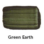 M. Graham Oil Color - Green Earth 37 ml