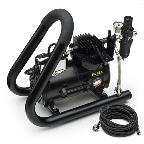 Iwata Smart Jet PLUS Tubular Airbrush Compressor