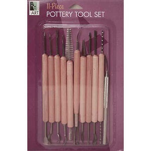 Pottery Tool Set - 11 Piece