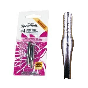 Speedball Lino cutter blades #4  (2 pack)