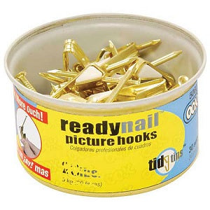 OOK ReadyNail Picture Hangers - 20 Pound Capacity - Tidy Tin
