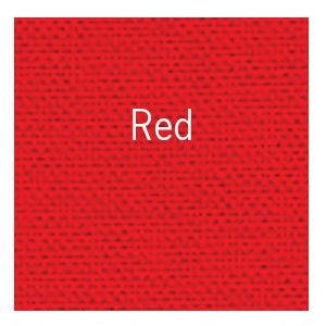 "Bookcloth 17"" X 19"" - Red"