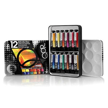 Golden QoR Watercolor Introductory 12 Color Set