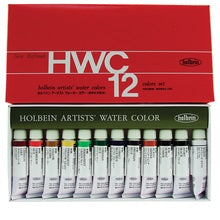 Holbein Artists Watercolor Set of 12 5ml Tubes