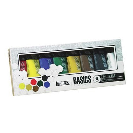 Liquitex BASICS 8 Color Set (75 ml tubes)