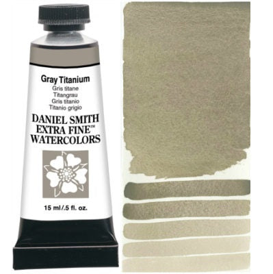 Daniel Smith Extra Fine Watercolor - Gray Titanium 15 ml