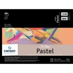 Canson Mi-Teintes Paper Pad - 24 sheets Assorted Colors 12x16