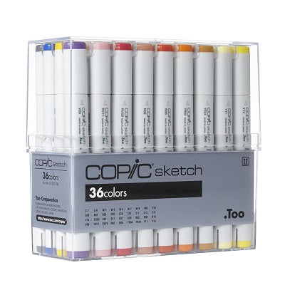 Copic Sketch Marker  36 basic set