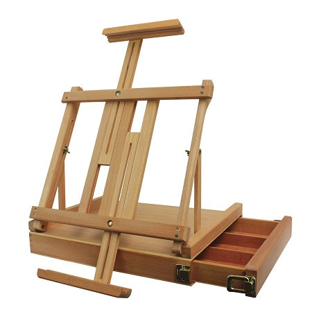 Ravenna sketch box easel (natural finish)