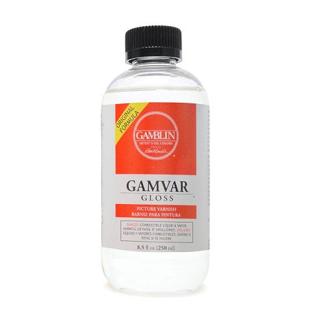 Gamblin Gamvar Picture Varnish - Gloss  8.5 fl oz.