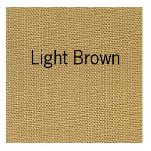"Bookcloth 17"" X 19"" - Light Brown"