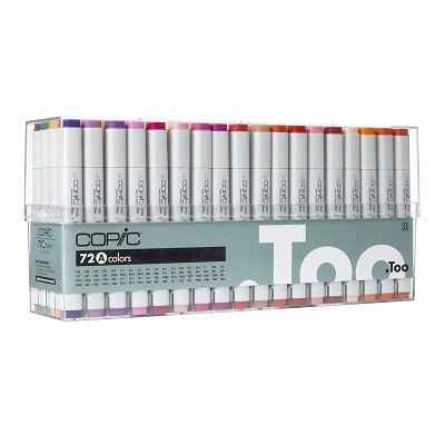 Copic CLASSIC Marker 72 set A