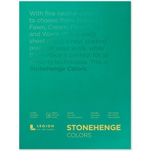 Stonehenge Multi-Color Drawing Pad  9x12