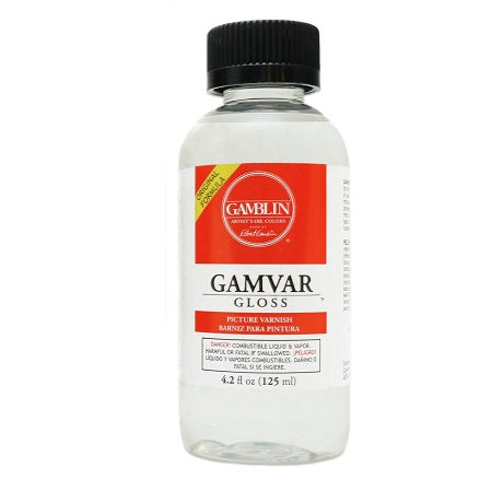 Gamblin Gamvar Picture Varnish - Gloss 4.2 oz.