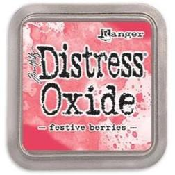 Tim Holtz Distress Oxide Stamp Pad - Festive Berries