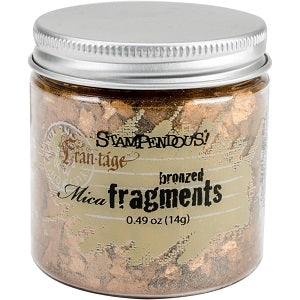 Stampendous Mica Fragments .49 oz (14 gram) - Bronzed