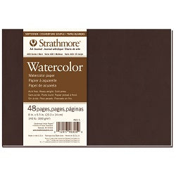 "Strathmore 400 Series Softcover Watercolor Journal 8""X5.5"""