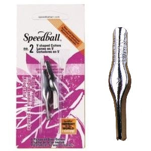 Speedball Lino cutter blades #2 (2 pack)