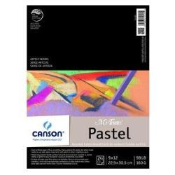 Canson Mi-Teintes Paper Pad - 24 sheets Assorted Colors  9x12