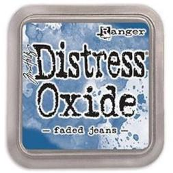 Tim Holtz Distress Oxide Stamp Pad - Faded Jeans