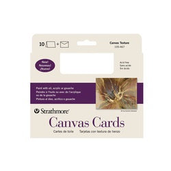 "Strathmore  Announcement Cards with Envelopes - Canvas Paper - 5"" x 7"" 10 Pack"