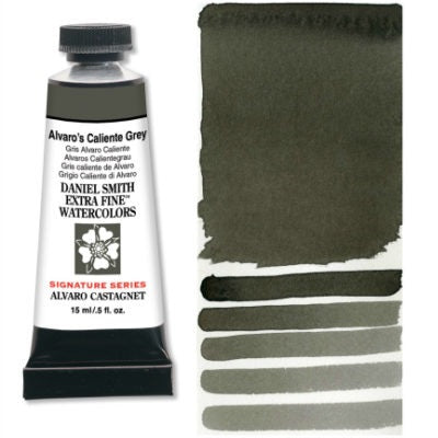 Daniel Smith Extra Fine Watercolor - Alvaro's Caliente (warm) Grey 15 ml