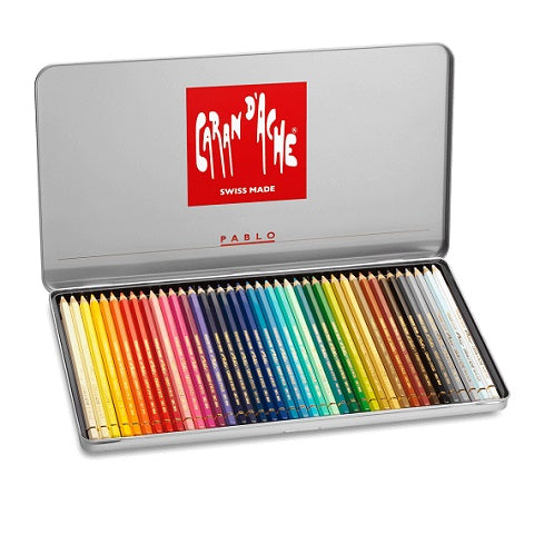 Caran d'Ache Pablo Colored Pencils - set of  40