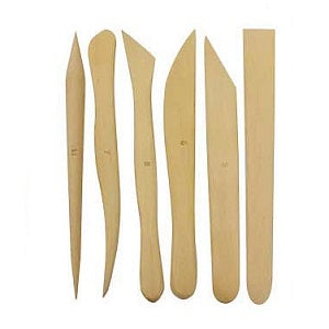 Boxwood Modeling Tools 6 inch - Set of 6
