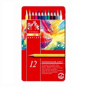 c7c3ee4a51d0 Caran d Ache Supracolor Soft Aquarelle Pencils - set of 12