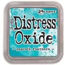 Tim Holtz Distress Oxide Stamp Pad - Peacock Feathers