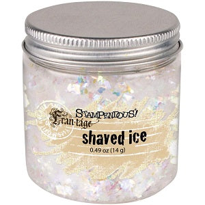 Stampendous Frantage Glitter - Shaved Ice .67 ounce  jar