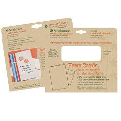 "Strathmore Hemp Cards with Envelopes 5"" X 6.875"" 10 Pack"