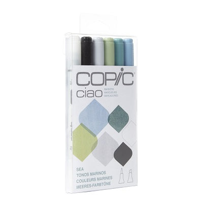 Copic  CIAO 6 Marker Set - Sea