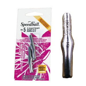 Speedball Lino cutter blades #5 (2 pack)