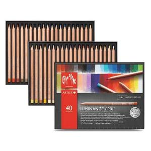 Caran d'Ache Luminance 6901 Colored Pencil -  set of  40
