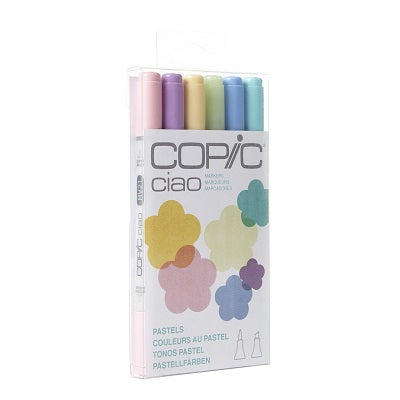 Copic  CIAO 6 Marker Set - Pastels