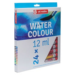 Talens Art Creation Watercolor Set - 12 ml Tubes - 24 Colors