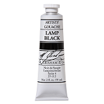 M. Graham Gouache Lamp Black 60ml