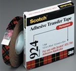 "Scotch ATG 924 Transfer Tape - 1/2"" X 36 Yard Roll"