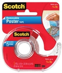"Scotch 109 Removable Poster tape 3/4"" x 150"""