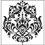 Crafters Workshop Stencil 6X6 - Brocade