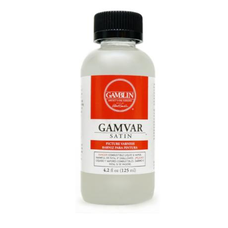 Gamblin Gamvar Picture Varnish - Satin 4.2 oz.