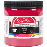 Speedball Fabric Screen Printing Ink - 8 oz Red