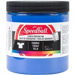 Speedball Fabric Screen Printing Ink - 8 oz Blue